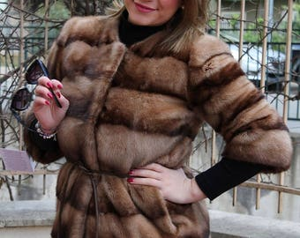 COAT FUR MINK