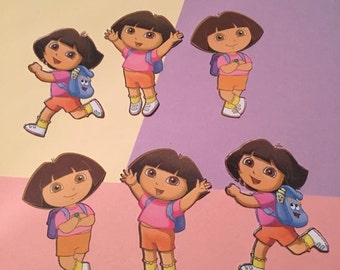 12 Dora the Explorer Die Cuts