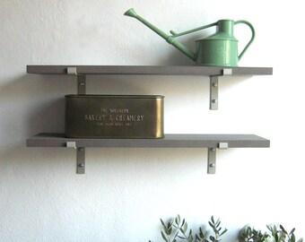 MDF steel Shelving wall shelf brackit shelf board industrial