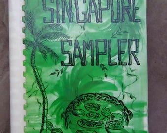 Vintage 1970s Singapore Sampler Cookbook Volume II Women's Auxiliary