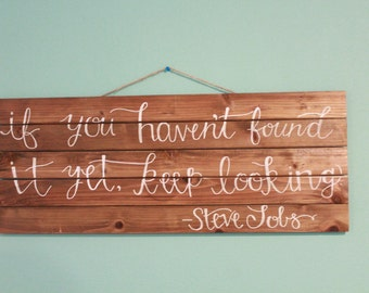 Large Pallet Quote Sign
