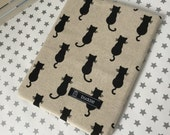 Buddle, small, padded book cover/sleeve (cats)
