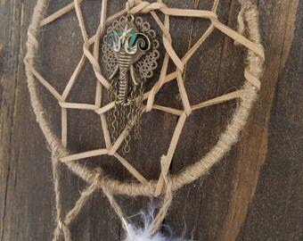 Gypsy Boho dream catcher elephant (small)
