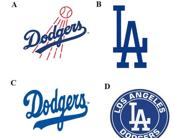 Los Angeles Dodgers Decal Yeti/Rtic Cups, Car Decal, Laptop, Cell Phone Decal
