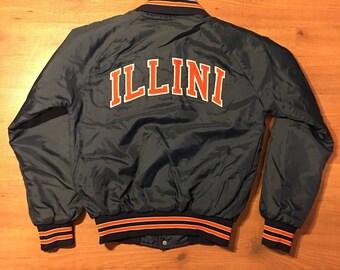 Vintage 1980s Illini jacket