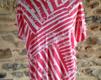 Top wide casual style geometric size M (38/40)