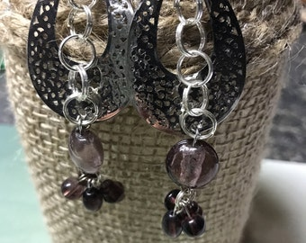 Chandelier Silver Earrings Dangle