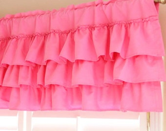 Luxury Pink Shabby Chic French Paris Balloon Tie Up Curtain Ribbon Shade
