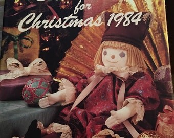 Decorating Craft Ideas -  Christmas 1984