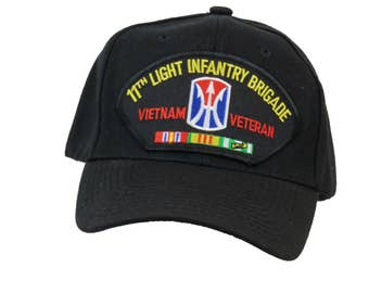 11th Light Infantry Brigade Vietnam Veteran Cap