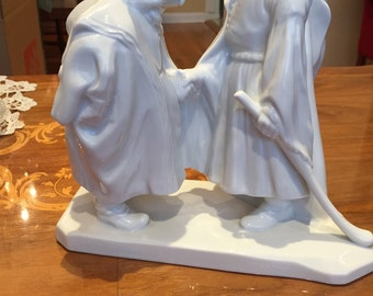 The Farewell - Herend Father and Son Figurine