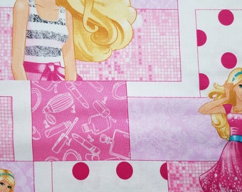 Barbie Patch Fabric