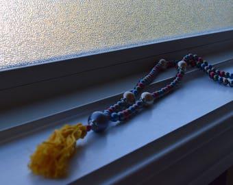 Mala/ Tassel Necklace
