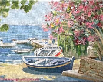 En Corse - Peinture à l'huile