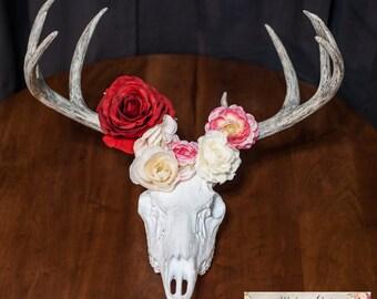 Faux 10 point  Buck Deer Skull