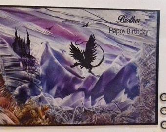 Wax art greeting cards