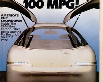 Popular Mechanics Magazine April 1992