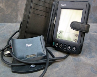 Palm VIIx with case, stylist and docking station