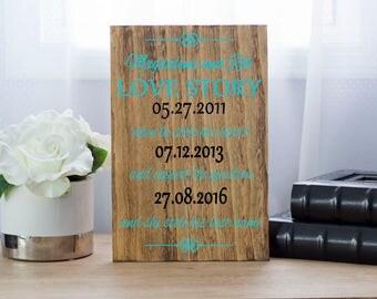 Gift for Couples, Wedding sign, Wood Sign, Wedding Gift, Wedding Memento, Anniversary Gift, Bride Groom Gift, Bridal Shower Gift