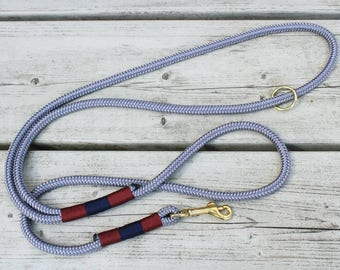 Handmade dog leash with wrist strap & a ring of PP/Tau/parachute cord