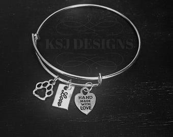 Animal Lover Charm Bracelet