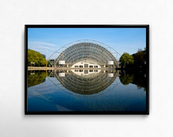 trade fair in Leipzig, Photoprint, Art, Printart - Poster, Acrylic, PVC foamboard, canvas print
