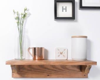 Wooden Shelf, Rustic Wood Shelf, Modern Shelf, Furniture, Wooden Furniture, Handmade Shelf, Chunky Wooden Shelf,  Chunky Wood, Wood Shelf