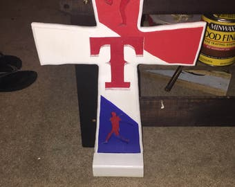 Texas Rangers Cross