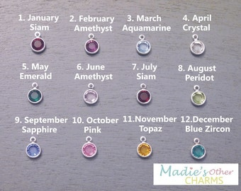 Add-on Swarovski Birthstone