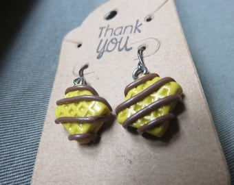 Waffle Earrings!