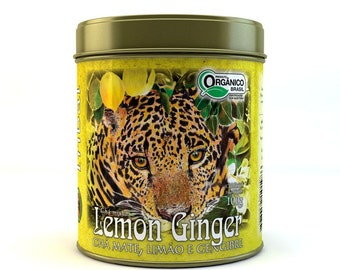 Tea lemon ginger - can 100g (3.5 oz)