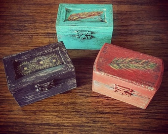 Mini Keepsake Boxes