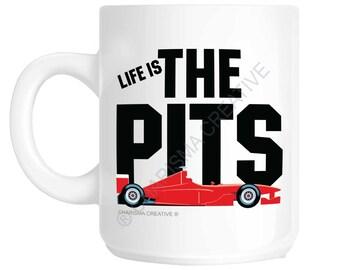 Formula Racing Car Novelty Fun Mug CH42