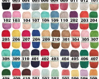 Cotton Select - 100% Cotton Yarn Sport