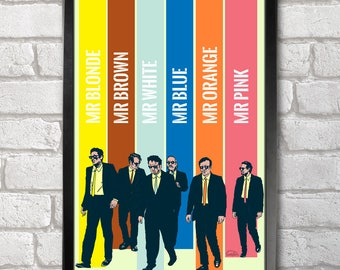 Reservoir Dogs Poster Print A3+ 13 x 19 in - 33 x 48 cm  Buy 2 get 1 FREE
