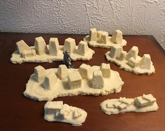 Dragon's teeth terrain