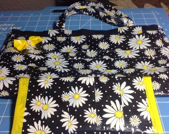 Daisy Duct Tape Purse and Wallet