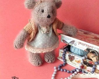 Mouse Greta / вязаная игрушка / мышка / knitting / crochet toys