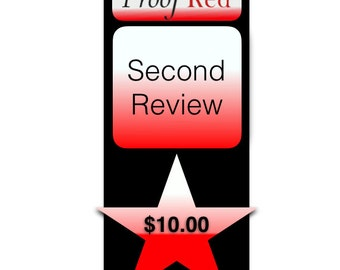 2nd review - Proofreading, editing