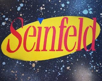 """8X10"""" Seinfeld Stencil Art"""