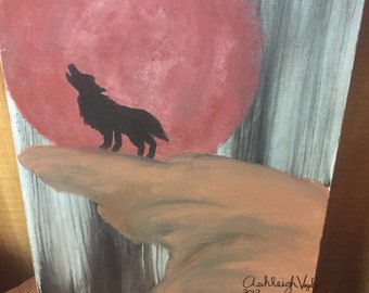 Metallic Accent Lone Wolf