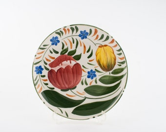Wade Royal Victoria Pottery  Hand Painted Plate  - Capri Design c.1953