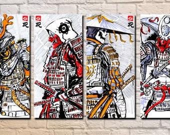 Skeleton Samurai 04 - 11 x 17 Prints