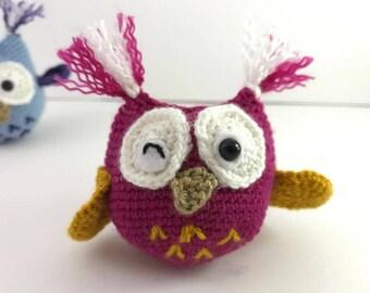 Crochet PATTERN: Little Owl