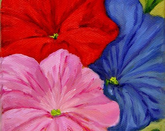 Petunias Mixed Seed Packet Series