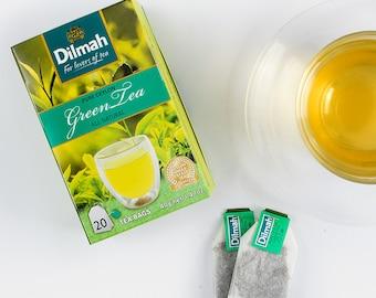 Dilmah Pure Ceylon GREEN TEA 20 bags