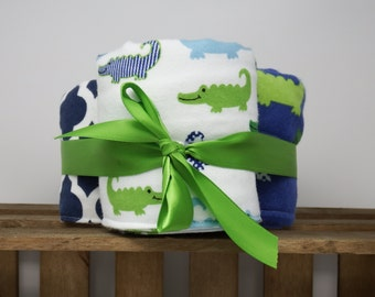 Alexander Burp Cloth Set