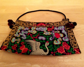 Bag: sewed, Colorful, nature pattern