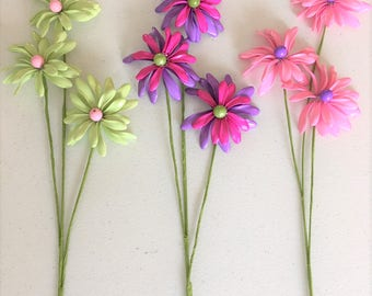 Floral wreath DIY,Beads flower stems,Spring flower stems,Vase decoration,Floral arrangement,Floral DIY,Summer beads flower