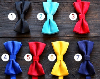 Children Bow Ties Baby Bow Ties Kids Bow Ties Blue Bow Tie Red Bow Tie